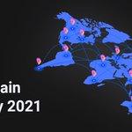 Image for the Tweet beginning: 2021 Credits Blockchain Development Strategy