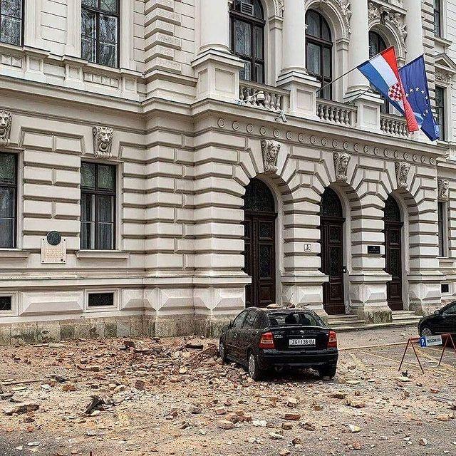 Index Hakeem On Twitter Croatia A New Earthquake Of Magnitude 6 3 Just Happened South Of Zagreb Zemljotres Hrvatska