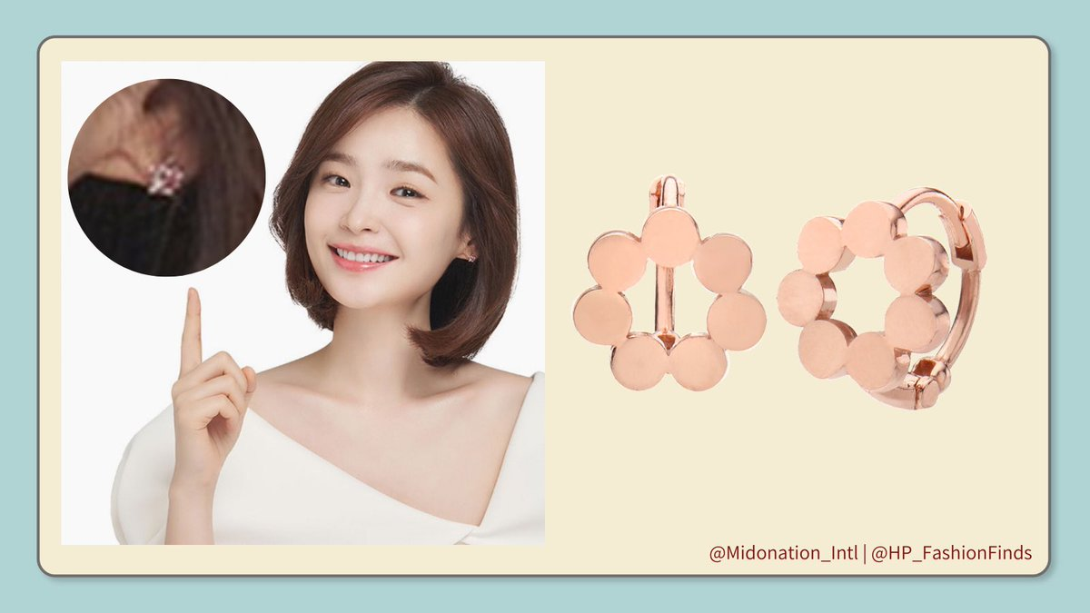 🪡 Jeon Mido Fashion Finds BOTO Super Foods Promotional Photos DOROCY - 14K Round Donut Flower Earrings (₩215,000) 🔗 dorocy.co.kr/m/product.html… #JeonMido #전미도 #ForJeonMido #FashionFinds