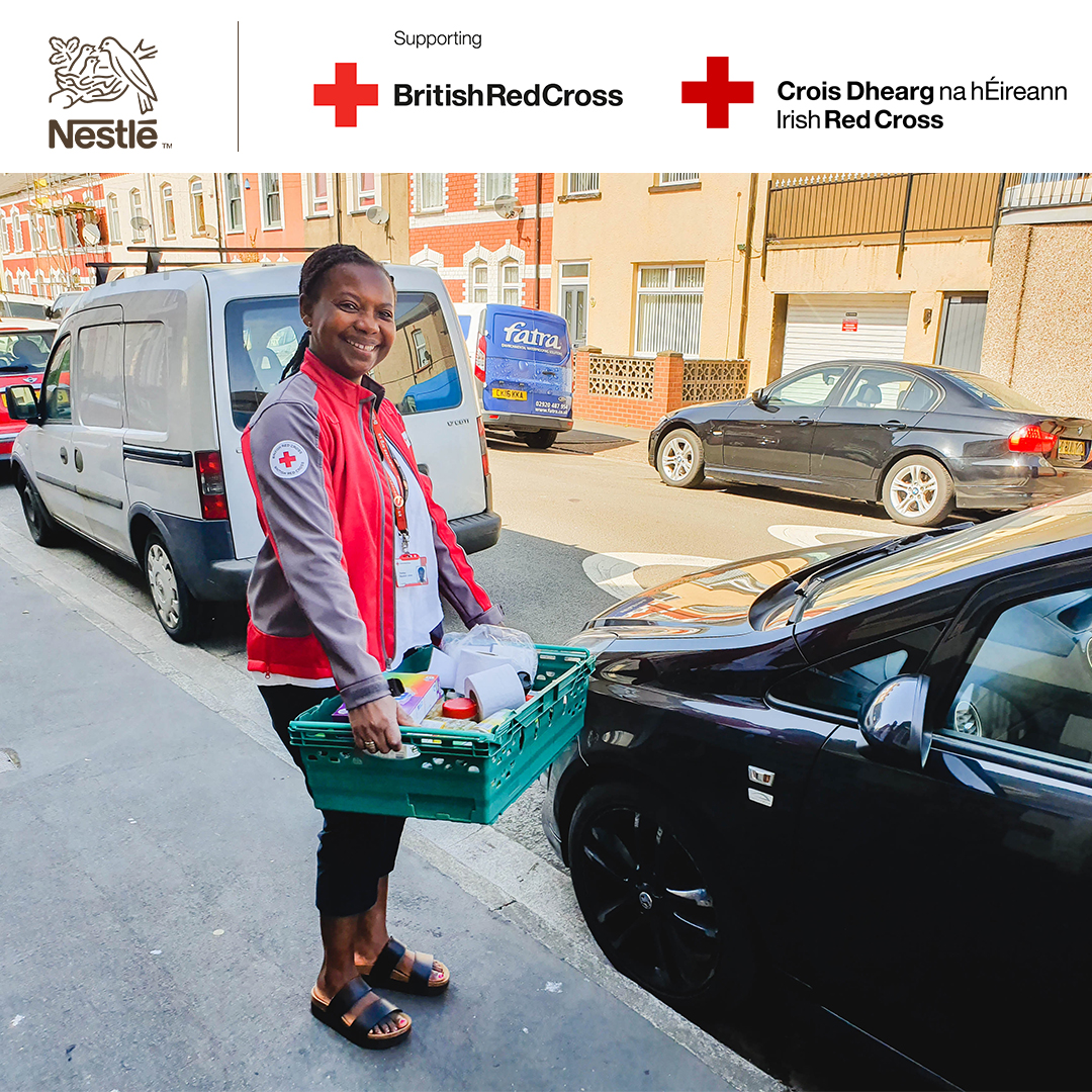 On #WorldKindnessDay our brands came together to hand over social media to the @BritishRedCross & @irishredcross, raising awareness of the important work the two charities do to support those in need.    #Nestlé2020