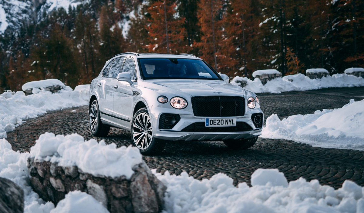 I will challenge the norms. The #NewBentayga. #Resolutions