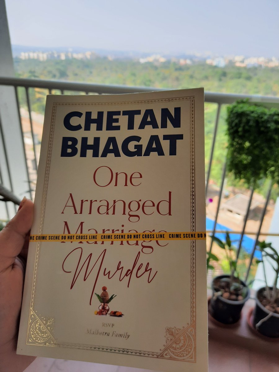 Completed this #Bestseller #Novel #OneArrangedMurder in a span of 4 Days with 4 sittings🤗 As a Law Professional I got attracted by the Title and end up reading it after My PhD Thesis Submissions! @chetan_bhagat Sir, Thank you so much for this Treat in 2020 🙏