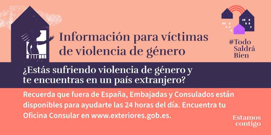 Twitter Delegación del Gob. contra la Violencia de Género. 📣 ¿Estás sufriendo #ViolenciaDeGénero ...: abre ventana nueva