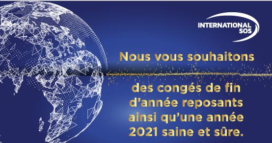 Merci d'avoir fait confiance à International SOS cette année.   Nous tenons à vous remercier pour votre collaboration exceptionnelle en 2020. Nous ferons tout ce qui est en notre pouvoir pour vous aider à sortir plus forts de la pandémie. https://t.co/8GRURmZ1Xu
