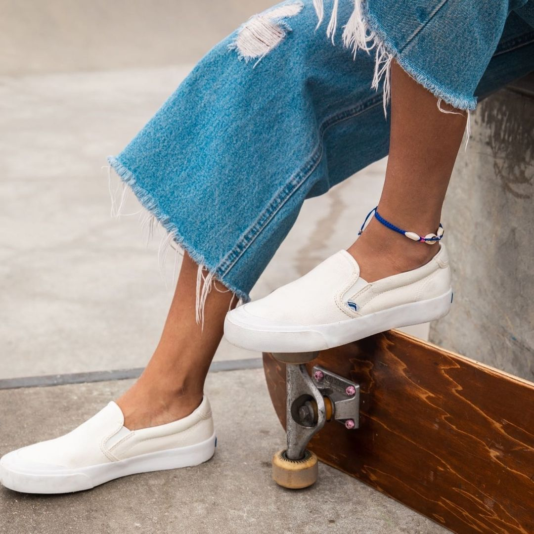 Blue jeans, meet Keds blue. #Kedsstyle  Get the Crew Kick sneakers at Keds stores, online at , or through the Keds Ph Viber community, and our personal shoppers will assist you! Join here: