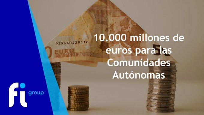 El Ministerio de  ha comunicado de qué manera se van a repartir los 10.000 M€ de _EU del .Est....