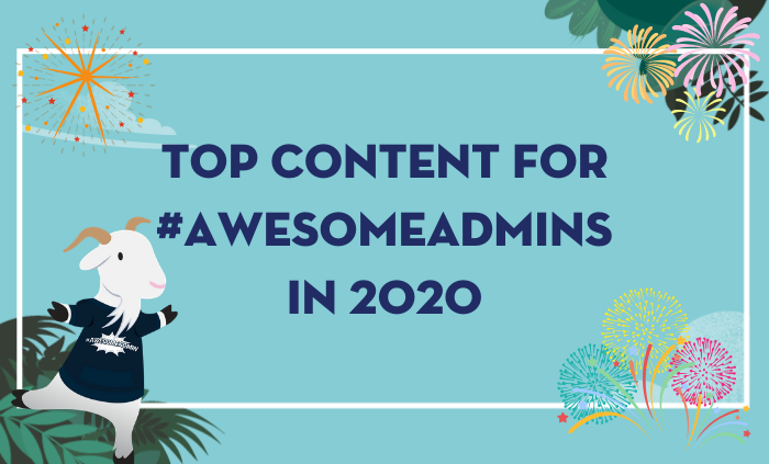 We've rounded up some of our most popular #AwesomeAdmin blog posts, podcasts, videos and Trailhead Live sessions from 2️⃣ 0️⃣2️⃣ 0️⃣. If you missed any of it last year, now's the time to dive in and catch up!