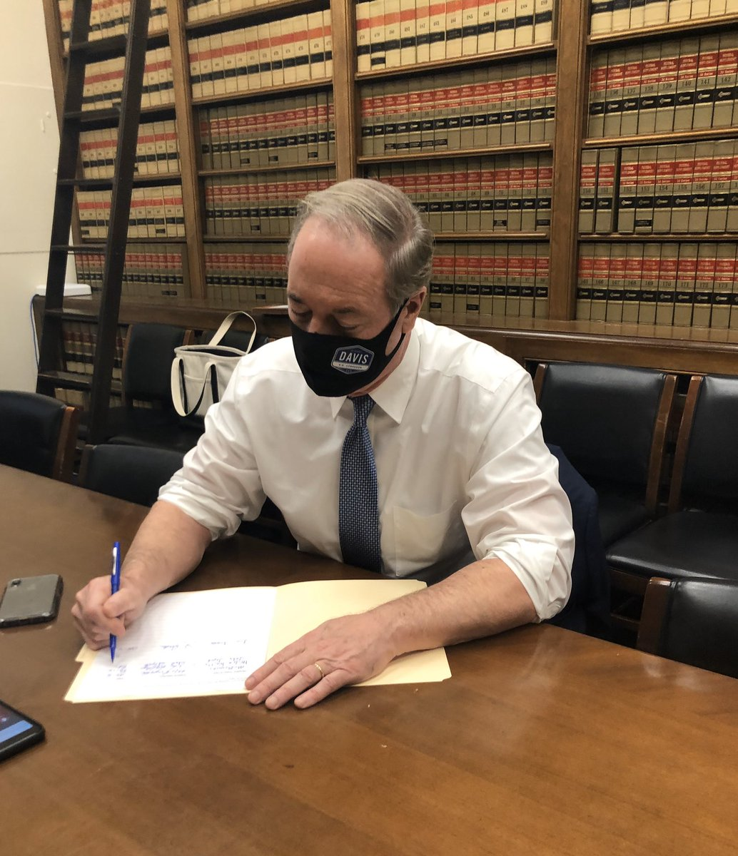 Today I signed the official objection to the Pennsylvania electors ahead of tomorrow's Electoral College certification vote.   We must fight for free and fair elections - and the rule of law.