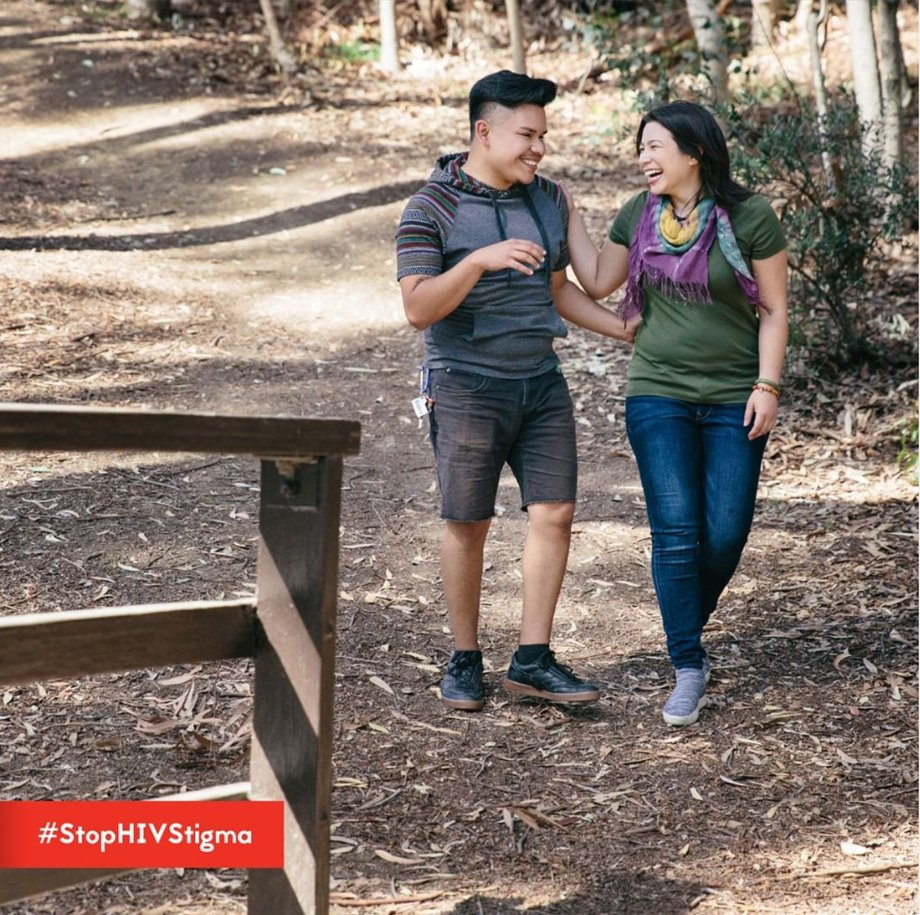 Friends don't let friends perpetuate #HIVstigma. If you have a friend with #HIV, offer support by learning the facts and discovering ways to #StopHIVStigma. Learn more by visiting:   #StopHIVTogether