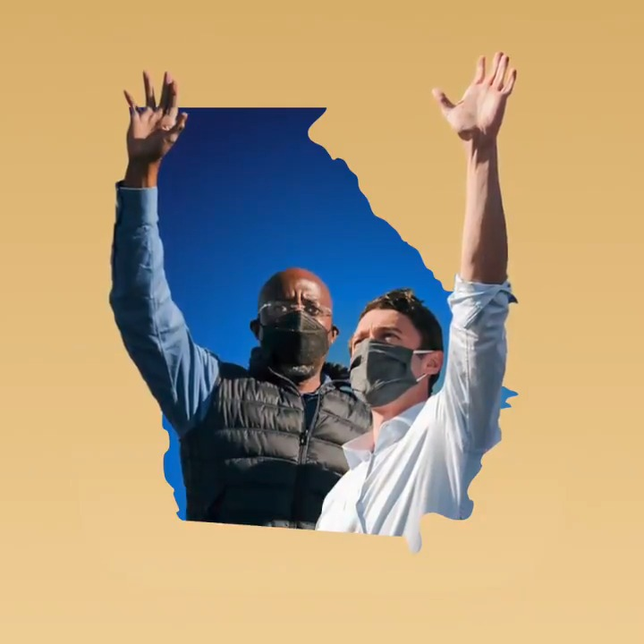 Georgia — The nation is looking to you to lead us forward. The power is in your hands: iwillvote.com/GA