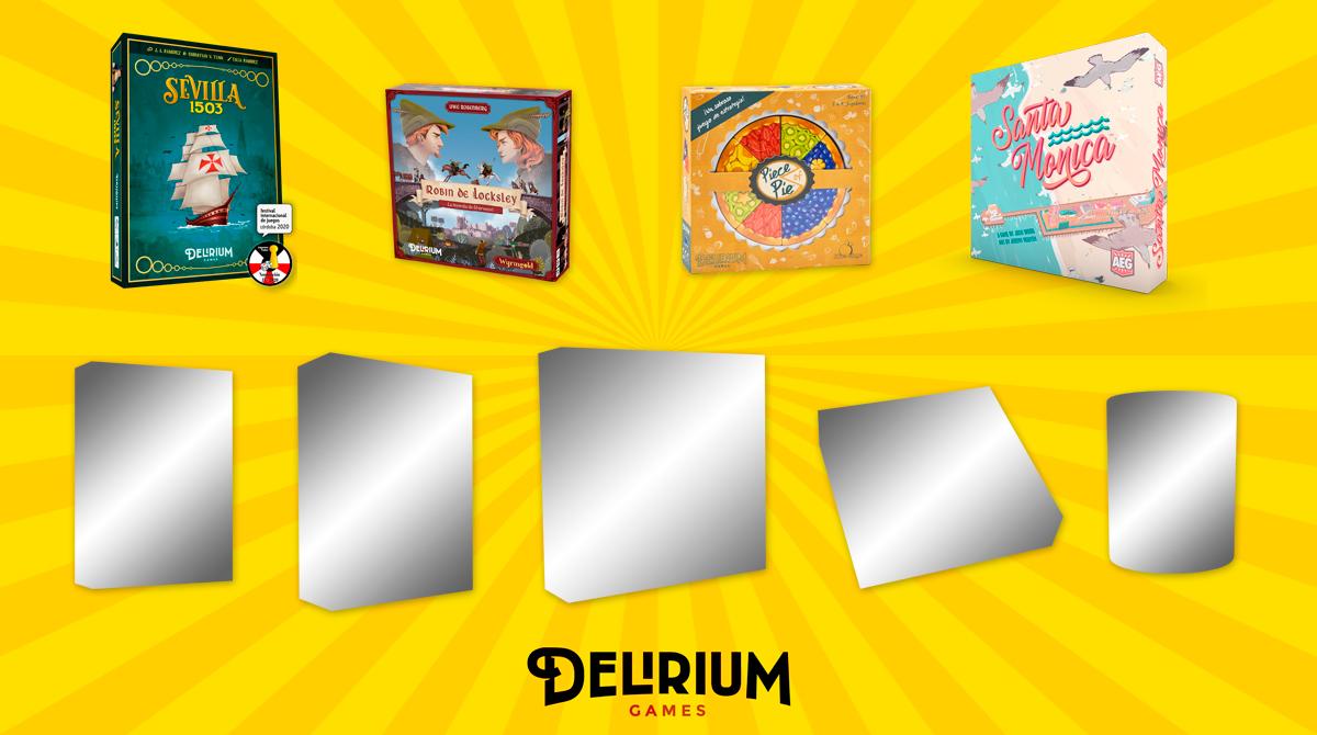 Catálogo de Delirium Games 2021