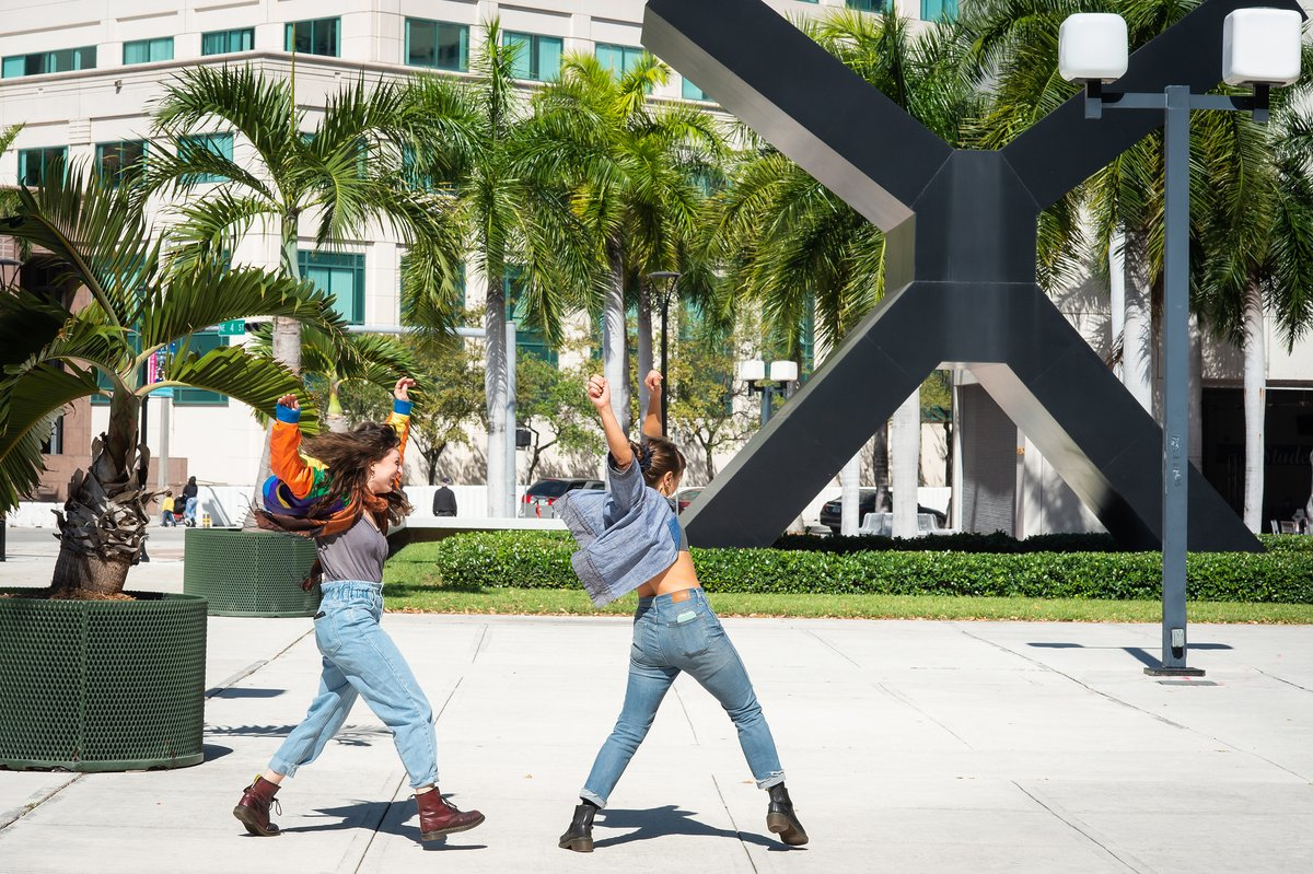 Dancing our way through Monday and into the week like…      #PioneerWinterCollective #Miami #MiamiDade #dance