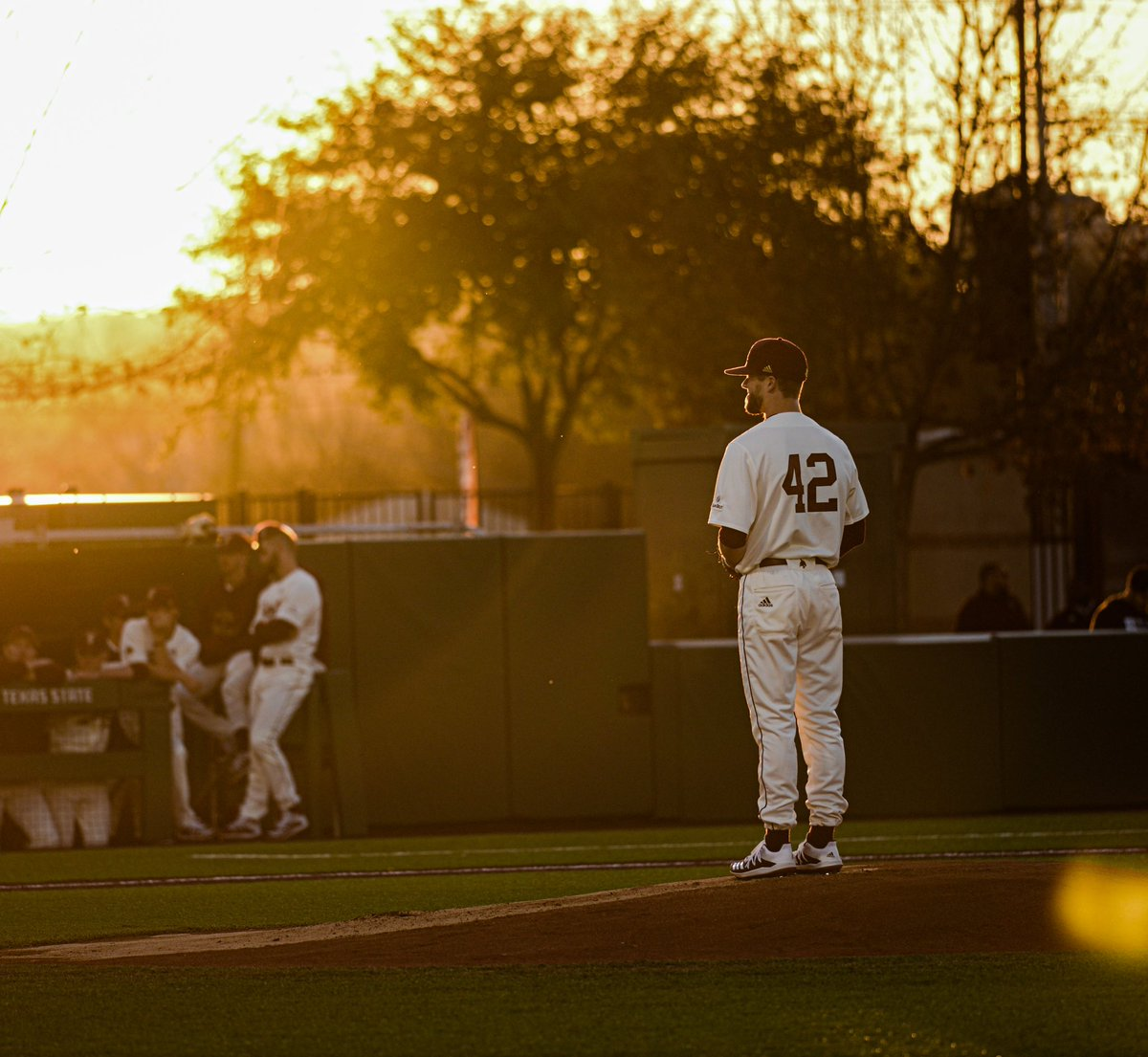 Ready for @TxStateBaseball sunsets again. #EatEmUp