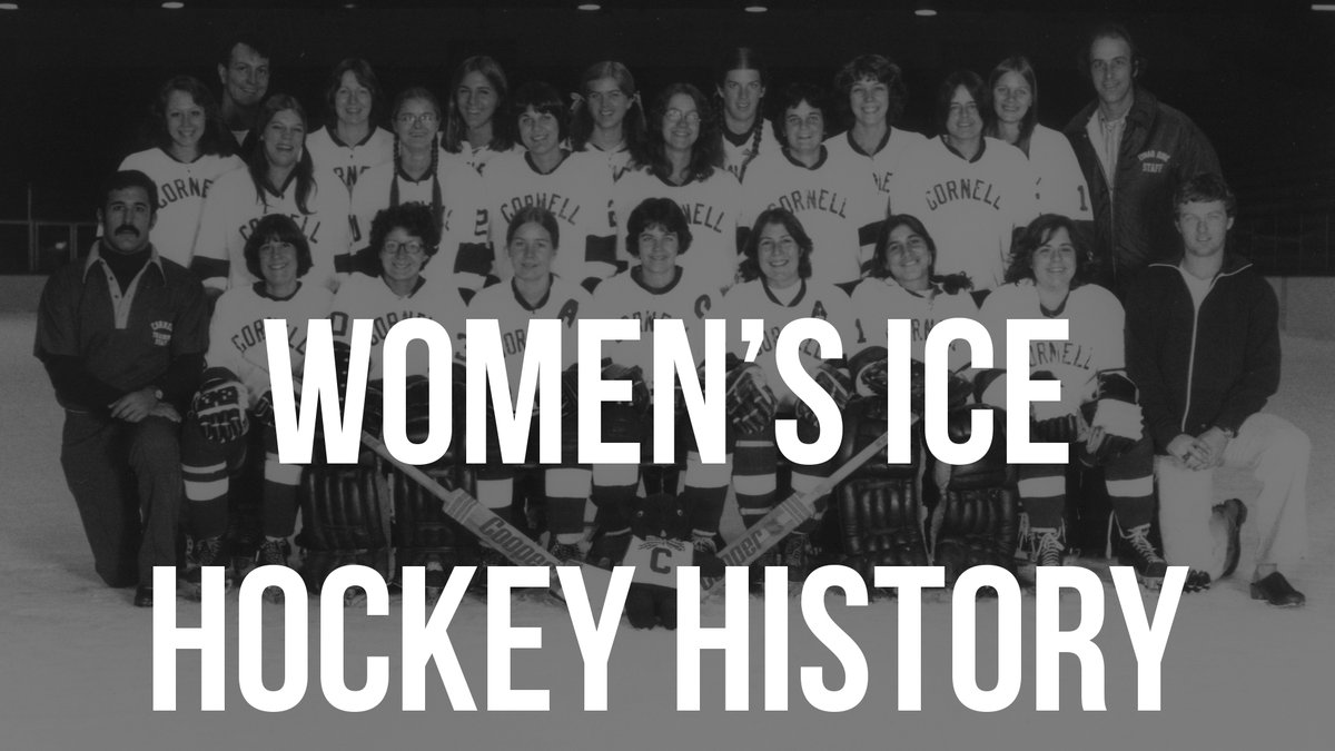 WIH: Check out year-by-year results, records and individual accomplishments through the years in the @CornellWHockey record book! #TeamTuesday #YellCornell   LINK: https://t.co/U2aWwZMEkA https://t.co/q222WraQm6