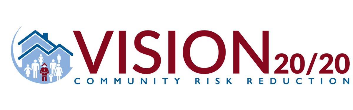 Vision 20/20 @strategicfire Completes Strategic Planning Process in Preparing for the Future of Community Risk Reduction.  #v2020crr #crr