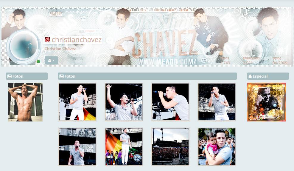 Novo visual da página !  Galeria fan dedicada ao artista mexicano Christian Chávez 😍 #ChristianChavez #LaSuerteDeLoli #seroparecer #seroparecerlive #seroparecer2020 #RBD #fans #fansite #FanPage #fandom #fanclub #fanlove #love #boy #banner #blend #grammy