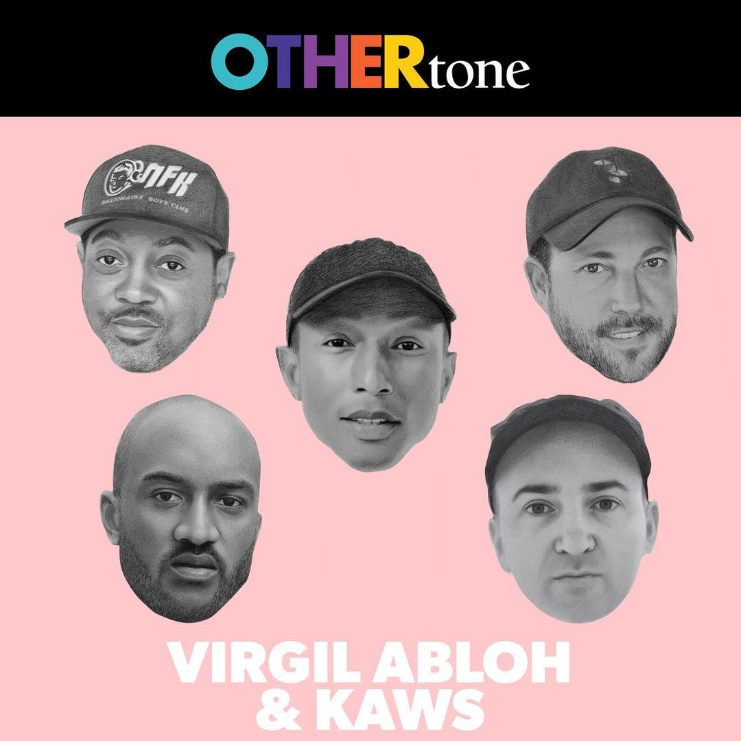 Check out @OTHERtone's first 2021 podcast episode featuring @virgilabloh and @fyKAWS