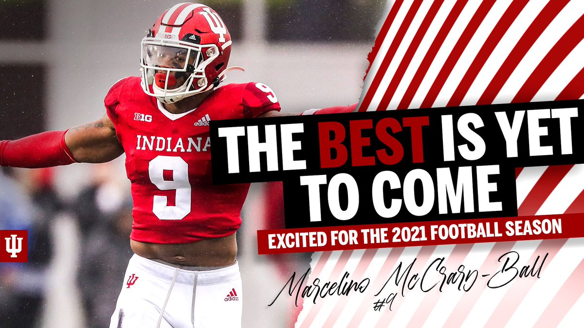 So Fired Up to have Marcelino McCray-Ball back for the 2021 season. He has battled through adversity and he will come back stronger than ever!!! #LEO