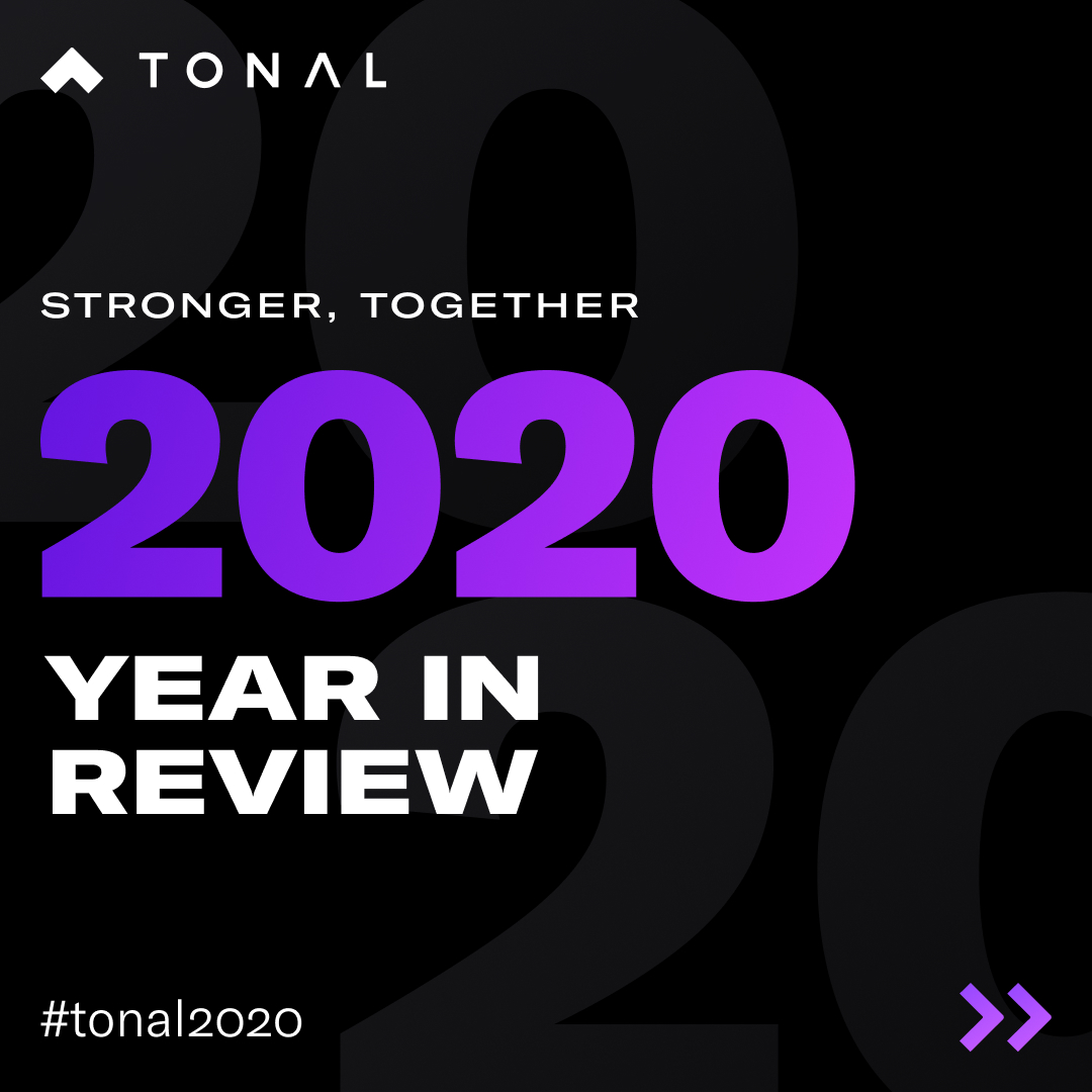 How many days did you spend with Tonal last year? We want to know. Share your 2020 Year in Review stats with us on Instagram, and use the hashtag #Tonal2020 for a chance to win a $250 gift card to the Tonal Gear Shop. We'll select a winner on 1/11!