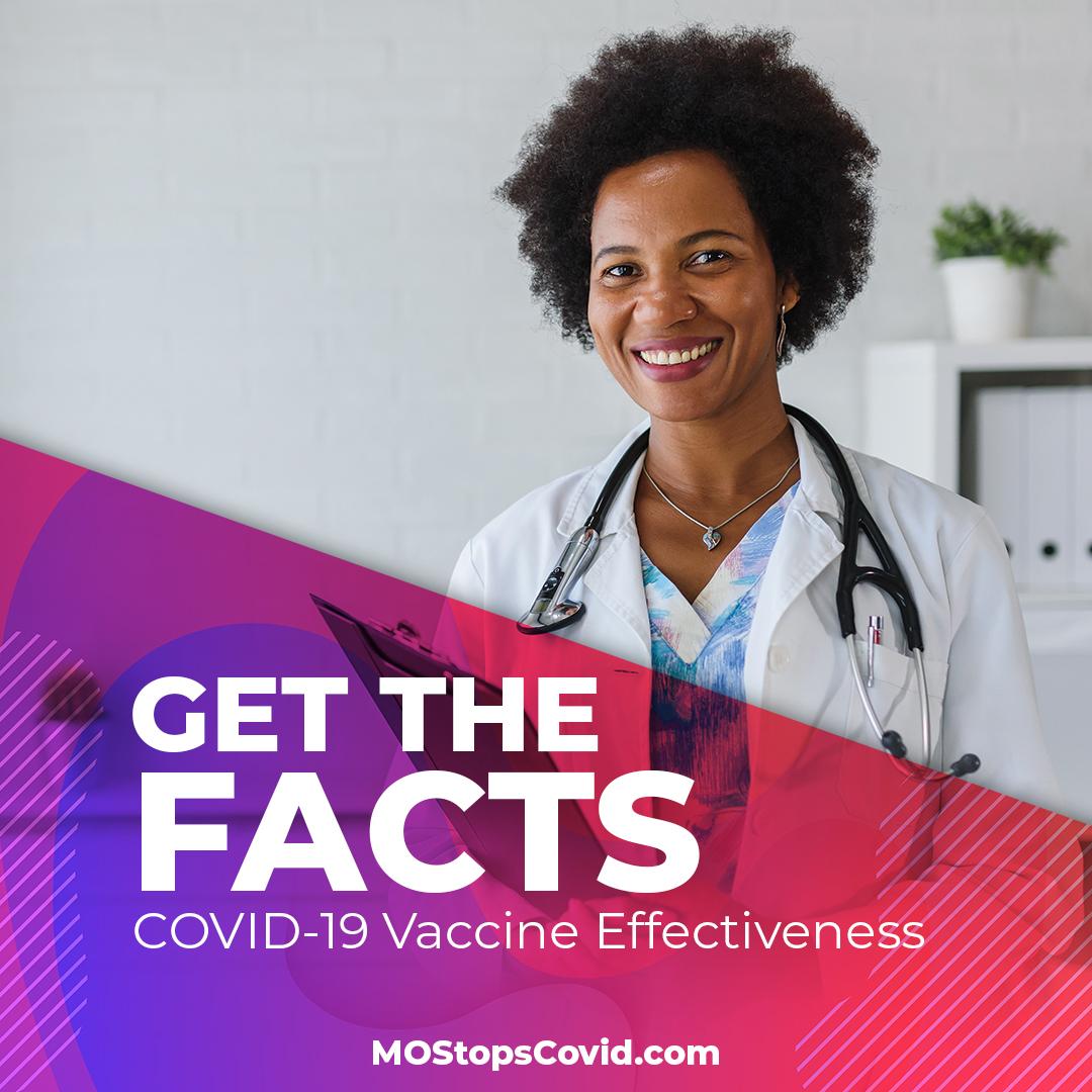 How effective will COVID-19 vaccine be? covidvaccine.mo.gov/facts/#effecti…