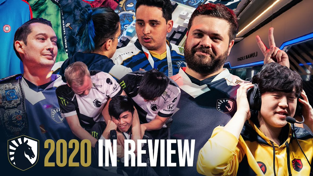 Team Liquid - 2020 was a year of highs, lows and growth. Take a look back at the year that was 🙌