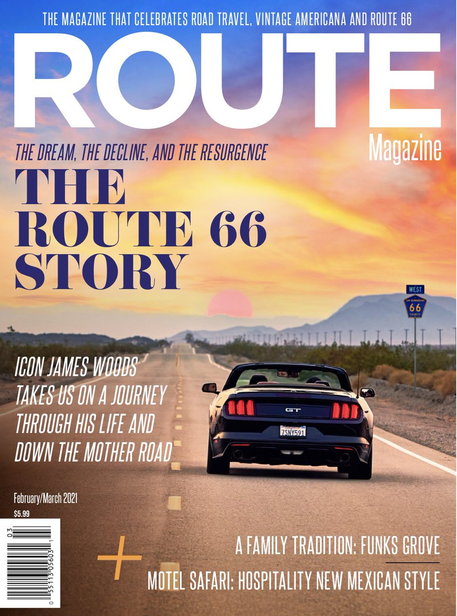 Happy New Year, friends. I'm happy to report my interview in ROUTE is finally coming out and will be in the February 2021 issue. If folks subscribe now, they are guaranteed to get an advance copy sent right to them. Please go to https://t.co/q8LsOxkBMS to subscribe! https://t.co/iR17wxqnK7