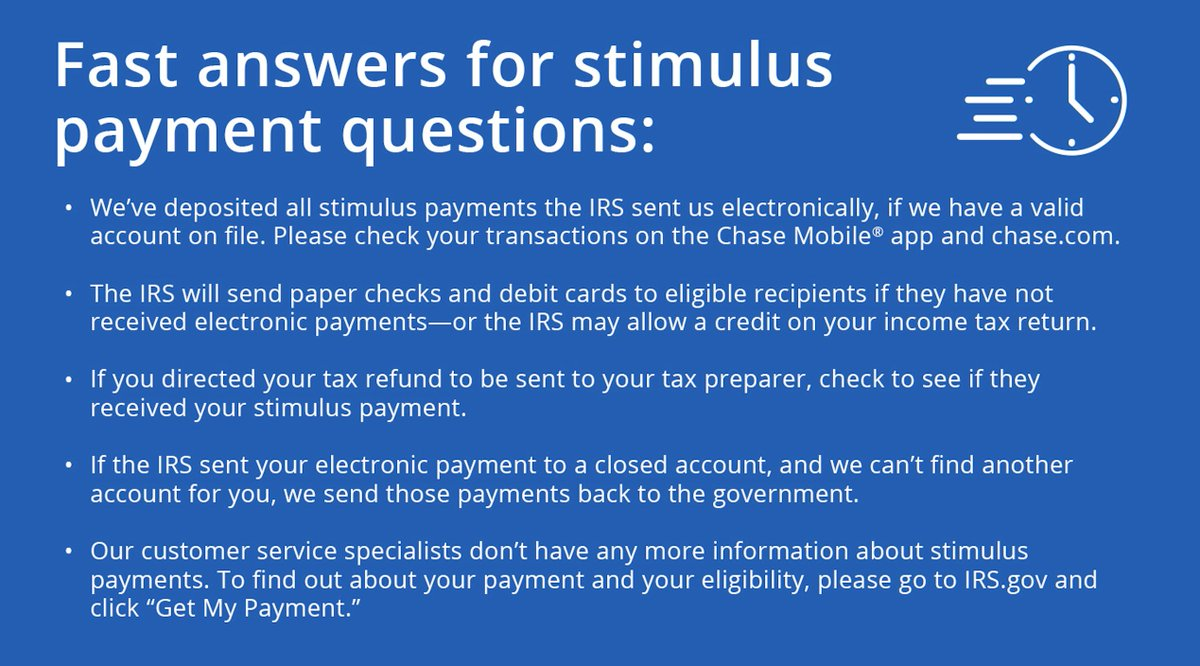 Have a question about the status of your stimulus payment? See below for answers to FAQs.