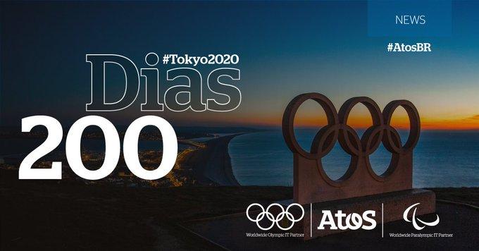 Estamos em contagem regressiva!  200 dias nos separam de #Tokyo2020. É a...