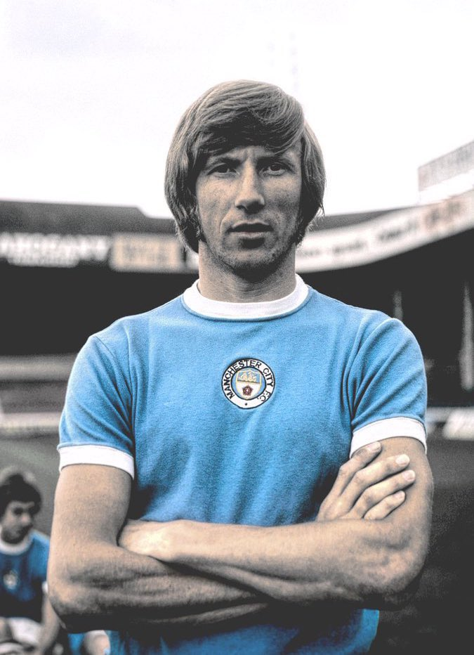 Absolutely devastated to hear of the passing of Colin Bell. My thoughts and prayers go out to his family at this difficult time. RIP LEGEND 💙 https://t.co/dhrYA4G6B7