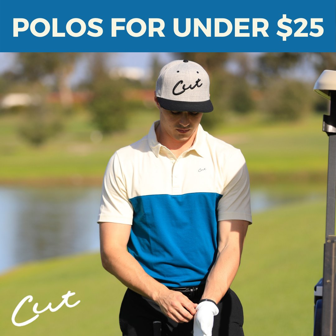 POLO SPECIAL: We're making room for our next collection of spring polos by offering our current styles for just $24.95!