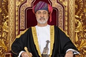 جلالته يتلقى برقيتي شكر من ملك البحرين ورئيس لاو جريدة عمان