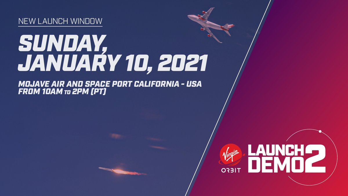 Our team is hitting the ground running in 2021! The window for our Launch Demo 2 mission opens this Sunday, January 10th, with opportunities to launch throughout January.