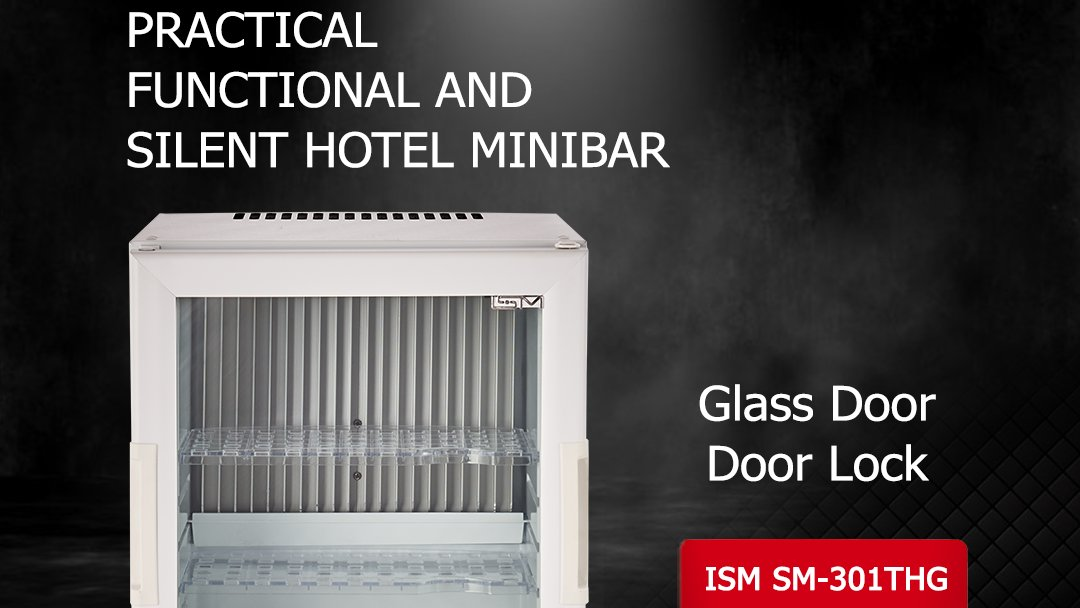 ISM 301 THG  Our product is practical, functional and silent hotel minibar with glass door and door lock. #minibar #hotels #equipments https://t.co/gKloE2rTTB