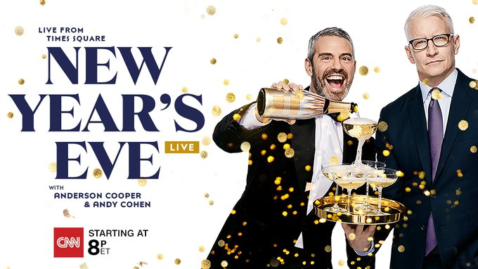 CNN was also #1 in All of Cable on NYE w/ @andersoncooper, @Andy, @donlemon and @BrookeBCNN. It was the most-watched New Year's Special on record in both total viewers/demo. Release: