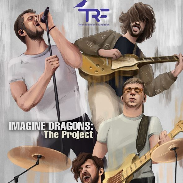"""After many months of preparation by TRF Ambassadors  @maya0811 & @constantinosCP, we are happy to share #projectID - A book from fans to fans!   """"@Imaginedragons: THE PROJECT"""" is OUT NOW!   All proceeds of the book will go directly to  @TRFdotORG"""