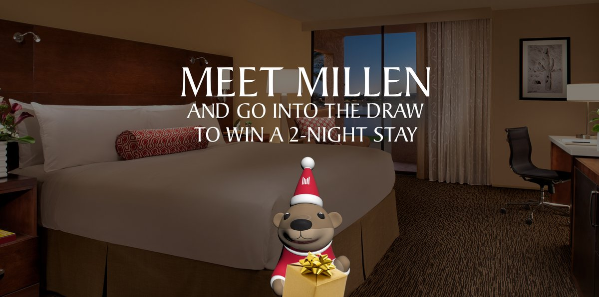 Have you met Millen yet? 🦦😍 Play with Millen, the Millennium Otter, and go into the draw to win a 2-night stay at any participating Millennium Hotel and Resort, as well as an extra bonus treat: https://t.co/Tbijmo8Ova  Competition closes 31 January 2021, T&C's apply. https://t.co/W11JG3Bu8a