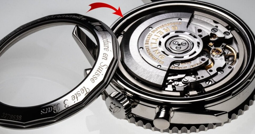 Deconstruction Breitling Navitimer  (Breitling Manufacture Caliber 01)