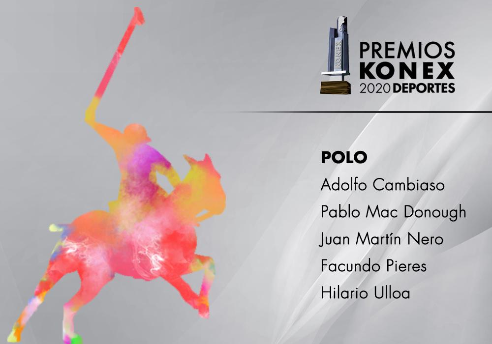 Los ganadores del #PremioKonex a los mejores de la década en la disciplina #Polo son:  🔹@ACambiasoOK 🔹Pablo Mac Donough 🔹Juan Martín Nero 🔹@facundopieres 🔹Hilario Ulloa  Acá el listado completo de premiados👇