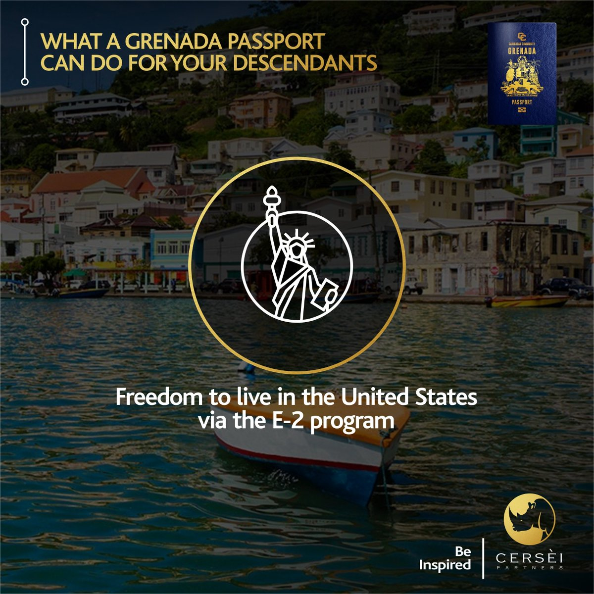 Contact us now to get started >> https://t.co/PUYz8LRSx2  Cersèi Partners - Be Inspired #CersèiPartners #immigration #WhatNext #news #travelfree #investment #globalinvestment #luxurylife #lagosnigeria #wealthbuilding #wealthcreation #fredomlifestyle #CitizenshipByInvestment https://t.co/XiOjMrL44v