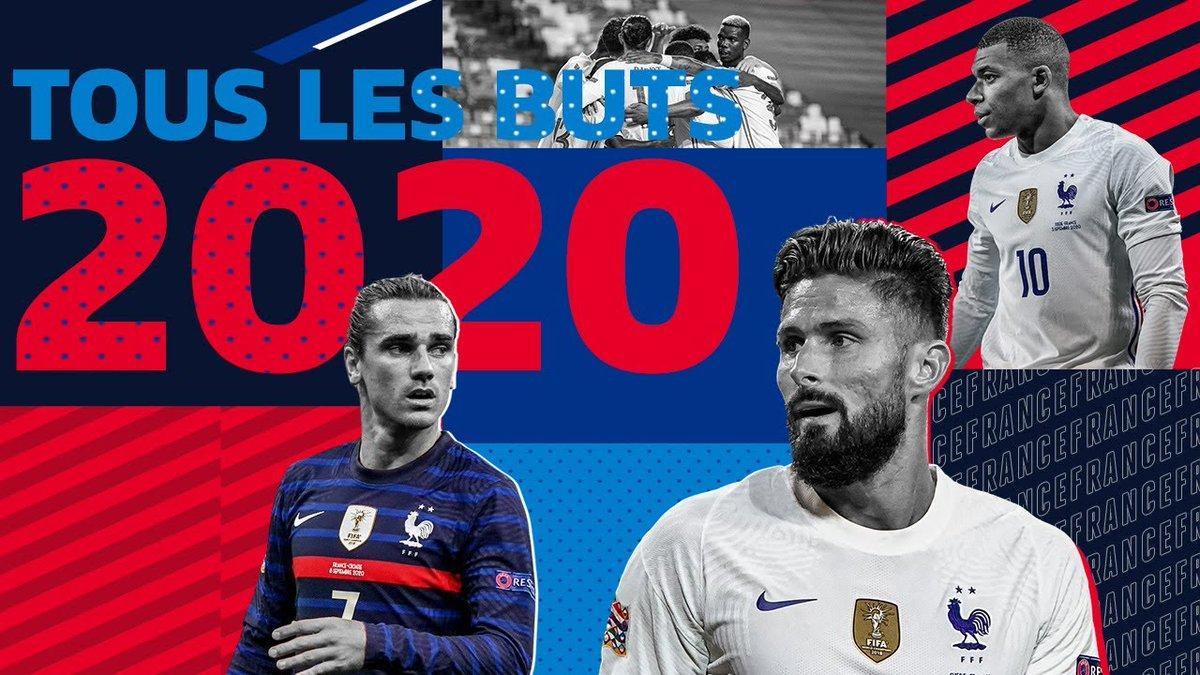 Tous les buts de l'Équipe de France en 2020 👊 #FiersdetreBleus