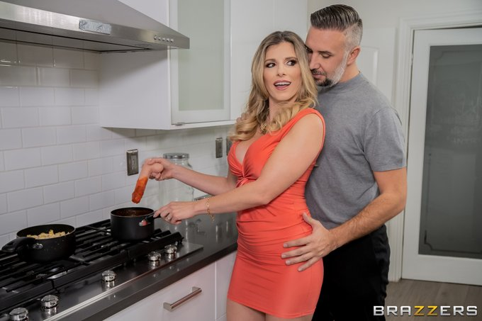2 pic. Cocking Utensils @CoryChaseXXX @KeiranLee  Yes, a Dildo was harmed in the making of this video