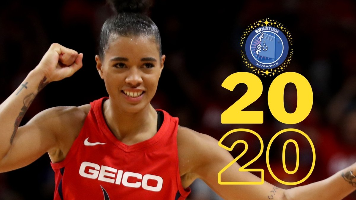 All week long at @outsports, we're honoring the LGBTQ athletes who made the biggest impacts this year.  It was my pleasure to write up our piece on @T_Cloud4: The Outsports Female Hero of the Year!