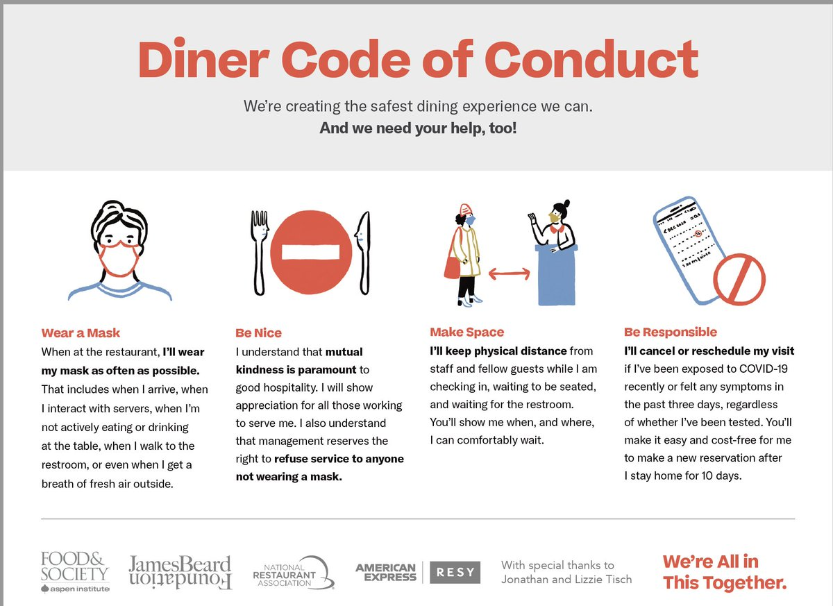 Town of Franklin, MA: Diner Code of Conduct