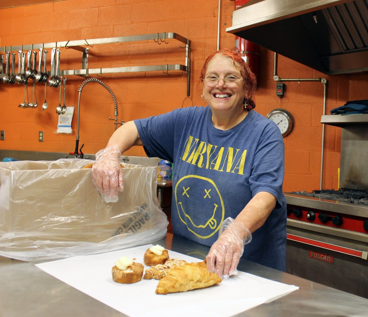 Now through New Year's Day, I'll be tweeting about some people who don't get enough credit for what they do. The first is Adrienne Marchetti, of the Pawtucket Soup Kitchen, who's been working 100-hour weeks during the pandemic to make sure enough food gets out to the homeless.