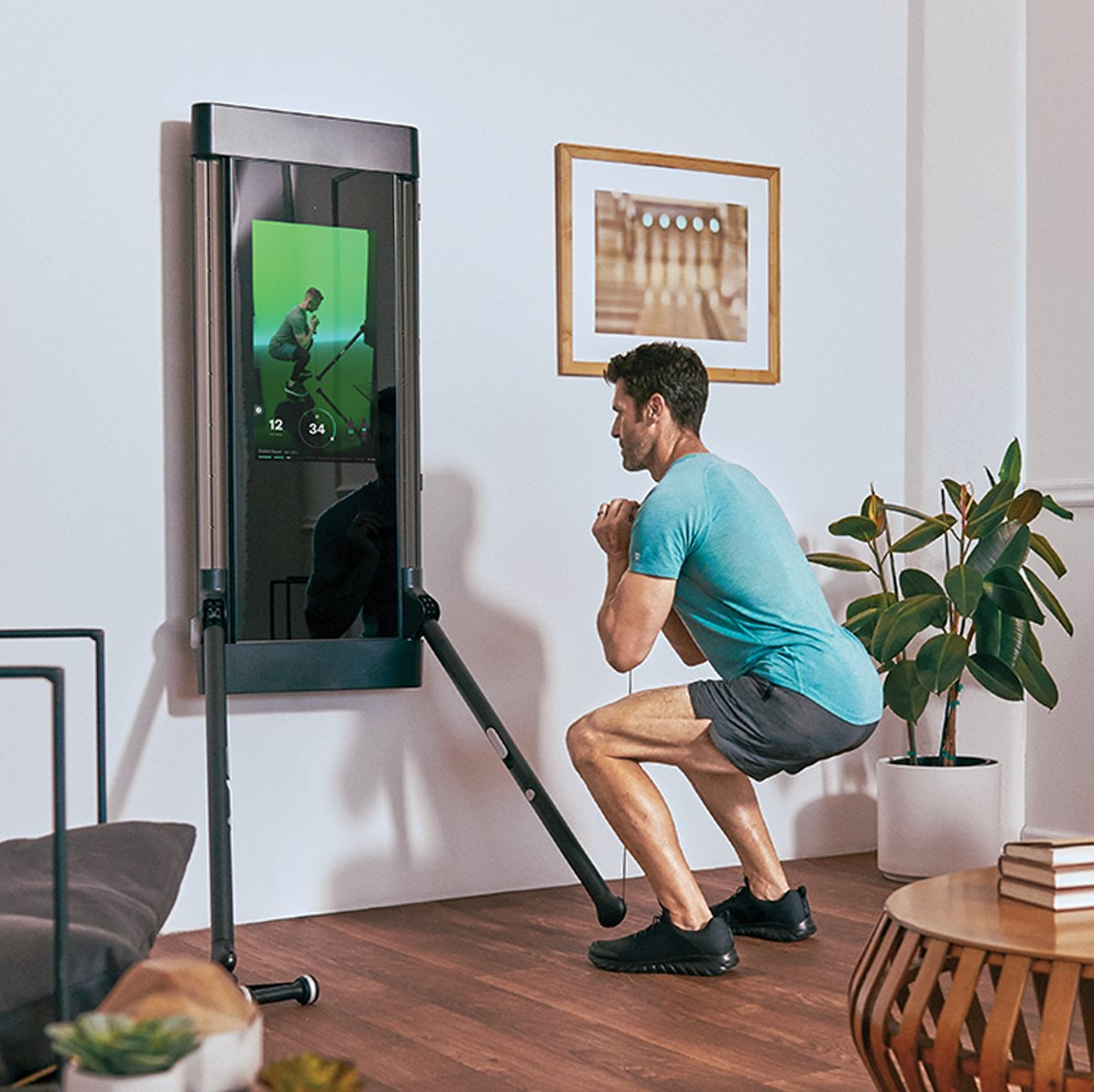 By eliminating traditional metal weights, Tonal can deliver 200 pounds of resistance in a device smaller than a flat screen TV. Powered by industry-shattering AI, Tonal's Digital Weight is the future of fitness.