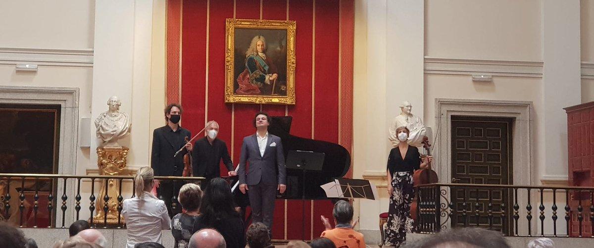Y así desembarcamos con👉 #Beethoven en la @rabasf. Gracias público 👌 por estar ahí.#TríoHermeneia #beethoven250thbirthday