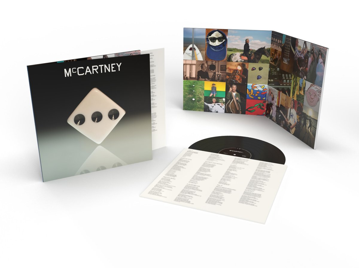 """I love a record store!"" #McCartneyIII is officially the #1 vinyl album in the US—and has had the third biggest one-week vinyl sales in Soundscan history. Find and support your local record store here:  🙌 @recordstoreday"