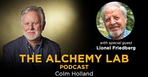 Watch: The Alchemy Lab with the award winning filmmaker Lionel Friedberg @FriedbergLionel - who is also the author of the book: FOREVER IN MY VEINS. Lionel is based in Los Angeles and his story covers the globe and his fascinating magical life. #podcast