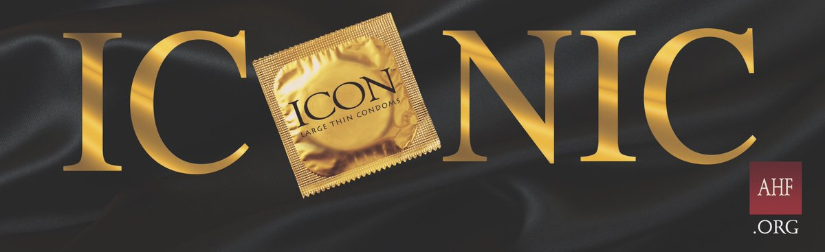 Iconic: 1: having the characteristics of an icon 2a: widely recognized & well-established 2b: widely known & acknowledged especially for distinctive excellence  If you are larger than life 😜 and need something beyond basic, we got you!  #WAD2020 #IconCondom #AHF #wrapitup