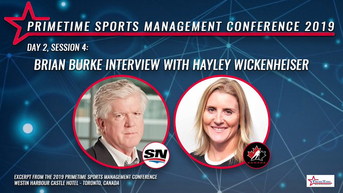 T U E S D A Y ▪️ T A L K S  📺 EPISODE 31: BRIAN BURKE INTERVIEW WITH HAYLEY WICKENHEISER  @Burkie2020 Former @NHL VP & GM Analyst - @Sportsnet  @wick_22 @HockeyHallFame Inductee & @TeamCanada Gold Medalist  + Player Development - @MapleLeafs  WATCH ➡️ https://t.co/8XL7NfcGnm https://t.co/kMUxIwCoPh